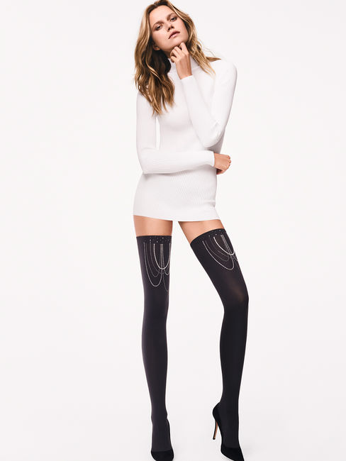 Wolford bas Jewelled